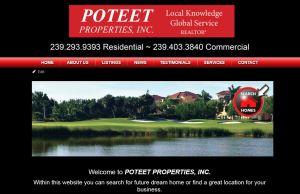 poteet properties website