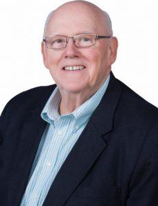 Publisher Reg Buxton